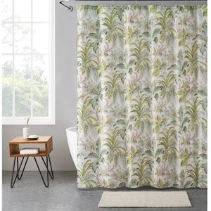 Bay Isle Home Ernst Tropical Shower Curtain Set